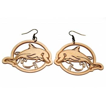 """Earrings """"Dolphin"""""""