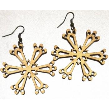 """Earrings """"Snowflake"""""""