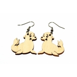"Earrings ""Seal"" KÕ03"