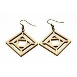 "Earrings ""Square"" KÕ14"