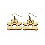 "Earrings ""Teddy bear"""