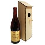 "Wine bottle holder ""Nesting box"""