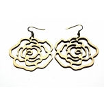 "Earrings ""Rose"" KÕ01 Small"