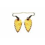 "Earrings ""Small leaves"" KÕ56"