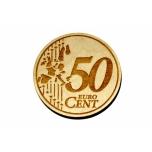 "Magnet ""50 cents"""