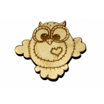 "Magnet ""Owl with a Heart"" MA52"
