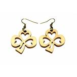 """Earrings """"Clover"""" KÕ59"""