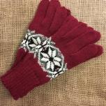 Glove wool thin