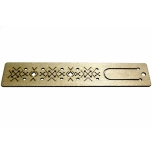 "Bookmark ""Ethnic pattern'' Engraved JH22"