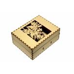 "Business card box ""Flowers"" KK44"