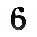 Metal number ''6'' Met nr 6