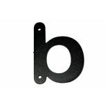 Metal letter ''b'' Met täht b