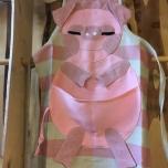 Children's apron Pig pink