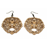"Earrings ""Lion's mane"" KÕ82 Thin"