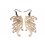 "Earrings ""Angel wings"" KÕ84 Thin"
