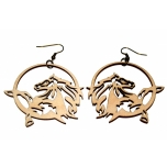 "Earrings ""Horse"" KÕ91"