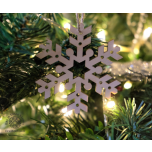 "Christmas decoration snowflake ""E73"""