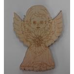 """Magnet """"Angel: flower"""""""