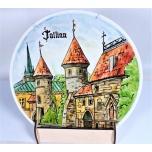 Wall plate Tallinn large