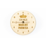 "Parking clock ""Siin pargib maailma parim isa"" PK48"