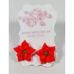 """Kõrvarõngad """"Jõulutäht"""" (2 cm)"""