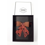 Bow tie Cyanos for women