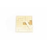 Mosaic puzzle Square-tetris KP24