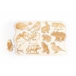 Puzzle wild animals LA 33