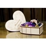 "Box Heart with lid ""Parimale sõbrale!"" KK106"