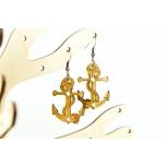 "Earrings ""Anchor"" KÕ24 bamboo"