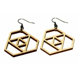 """Earrings """"Triangles"""""""