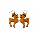 """Earrings """"Moose"""" Ebonized"""