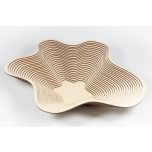 Platter 'Waved high'