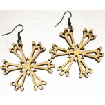 "Earrings ""Snowflake"""