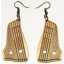 """Earrings """"Zither"""" KÕ102 Thin"""